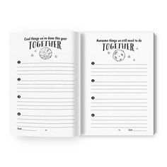Between Mom and Me Mother son journal