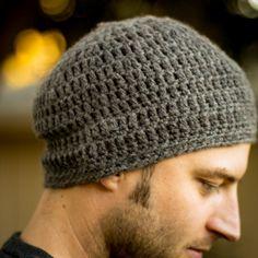 Crochet Mens Skull Cap Beanie- Handcrafted & Stylish