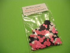 300 MINNIE MICKEY MOUSE Heads for Card Making by TheScrappyKat, $5.00