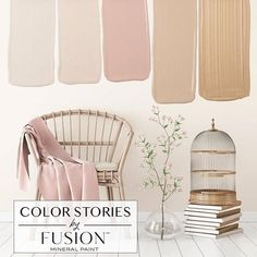 May& Color Story from Fusion Mineral Paint. May's Color Story from Fusion Mineral Paint Room Colors, Wall Colors, House Colors, Interior Paint, Interior Design, Interior Colors, Design Design, Paint Colors For Home, Pink Paint Colors