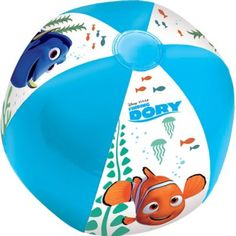 Finding Dory Beach Ball 13 1/2in   Party City