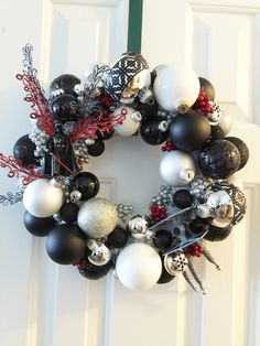 Even Darth Vader celebrates the holidays! Star Wars Christmas wreath