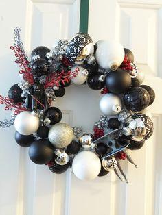 Even Darth Vader celebrates the holidays! Star Wars Christmas wreath