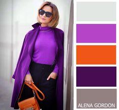 Color-Block Fashion de Alena Gordon | VK