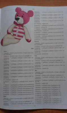 Miś Elephant, Crochet Hats, Teddy Bear, Toys, Free, Animals, Inspiration, Knitting Hats, Activity Toys
