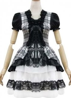 Black Princess Cosplay Costume Lolita Dresses
