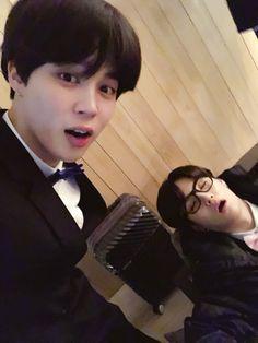 Jimin and Suga ❤️ [BTS Trans Tweet] 잘자라 우리 멤버들  #JIMIN #꾹 #미뉸기 / Sleep well our members  #JIMIN #Kkook #MiNyoongi #BTS #방탄소년단