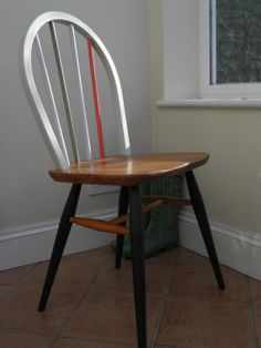 Painted ercol windsor chair