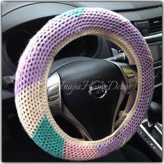 Car Steering Wheel Cover, Cute Car Accessories, Handmade Beaded Jewelry, Cute Cars, Hand Warmers, Happy Shopping, Diamond, Etsy, Food