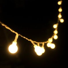 Amazon.com: Dailyart 13feet/4m Long Globe String Light Starry Light for Gardens, Home, Wedding, Christmas Party (Warm White), Battery-powered: Home Improvement