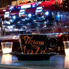 Premier Italian from Caffe Bristot at The Bowery Kitchen Italian Espresso, Italian Coffee, Nyc Coffee, Lamps, Italy, Handbags, Mugs, Tableware, Kitchen