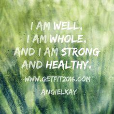 #health #wellness #affirmation Www.GetFit2016.com