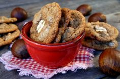 Chestnut Chocolate Chip Cookie Recipe {Gluten-Free}. Valentina, you are my New Best Friend. This woman does not do justice to her own recipe. These cookies are amazing. Run, don't walk, to your nearest chestnut flour retailer and BAKE BAKE BAKE!!