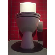 "Szuszi Loo, a toilet from her potty4porcelain typology on instagram. ""It's more about form than function."" https://www.instagram.com/potty4porcelain/"