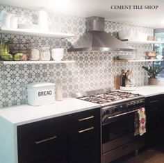New Backsplash - Cement Tile Shop