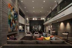 Contemporary Interior Design, Contemporary Bedroom, Modern House Design, Home Interior Design, Interior Architecture, Contemporary Building, Kitchen Contemporary, Contemporary Cottage, Contemporary Apartment