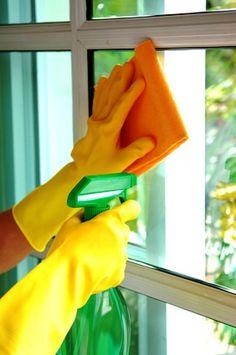 Vetri puliti e profumati con l'ammorbidente
