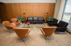 Fritz Hansen kits out UN president's office with mid-century Danish furniture