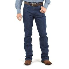 Wrangler Cowboy Cut Boot Jean Rigid Regular Fit - Jeans To Wear With Cowboy Boots Mens Wrangler Cowboy Cut, New Wrangler, Wrangler Jeans, Tall Jeans, Slim Jeans, Jeans And Boots, Men's Jeans, Best Cowboy Boots, Brown Cowboy Boots