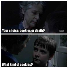 http://cheezburger.com/403461/funny-walking-dead-carol-threatens-child-meme-list