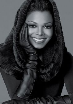 """Earlier this summer, Janet Jackson was chosen by Blackglama as the next icon to be featured in their """"What Becomes A Legend? As always, Ms. Jackson looks stunning. Janet Jackson, Michael Jackson, Lisa Marie Presley, Iconic Women, Famous Women, My Black Is Beautiful, Beautiful People, Beautiful Life, Simply Beautiful"""