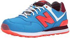 New Balance Women's WL574 Street Beat Pack Running Shoe, Blue/Orange, 11 B US New Balance http://www.amazon.com/dp/B00RBJHR5E/ref=cm_sw_r_pi_dp_fWukwb17NKP9X