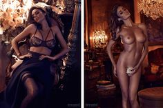 Nicole Trunfio by Steven Chee for 'Treats!' Magazine (NSFW)