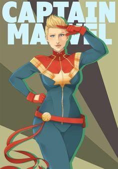 Carol Danvers - Captain Marvel by rani-ki on Ms Marvel Captain Marvel, Marvel Comics, Captain Marvel Costume, Captain Marvel Carol Danvers, Marvel Costumes, Black Widow Marvel, Marvel Girls, Comics Girls, Marvel Universe