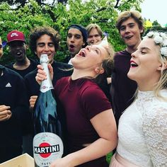 Evas 18th birthday party where Eskild will pop THAT CHAMPAGNE BOTTLE LIKE THE GURU LEGEND HE IS