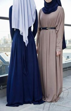 Modest, pretty hijab style
