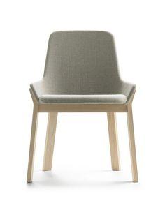 Stuhl für Restaurants / modern / Armlehnen / Polster KOILA by Jean-Louis Iratzoki Alki