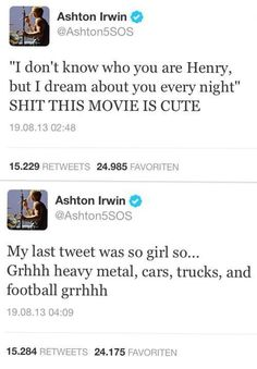 Ashton Irwin 5sos tweet