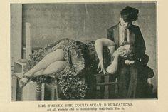 """""""Bifurcated Girls"""" iz posebnog izdanja Vanity Faira 6. lipnja 1903. godine (izvor: Infrogmation)."""