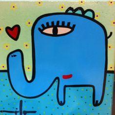 Kandinsky, Elephant, My Love, Painting, Origami, Random, Ideas, Wall Paintings, Murals