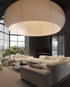 Interior Architecture, Interior And Exterior, Warm Home Decor, Dark Interiors, Home And Deco, House Rooms, Living Room Interior, Home Fashion, Living Room Designs