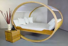 15 Unique Beds That Might Be Too Awesome to Actually Go to Sleep In Rolling Bed, Rock Bed, Dreams Beds, Cool Beds, Beautiful Bedrooms, Home Furniture, Home Goods, Room Decor, Interior Design