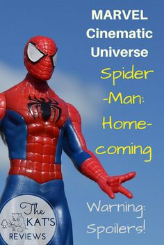 """Here's my review of """"Spider-Man: Homecoming""""! The Kat, Marvel Cinematic Universe, Comebacks, Homecoming, Spiderman, About Me Blog, Movie, Spider Man, Film"""