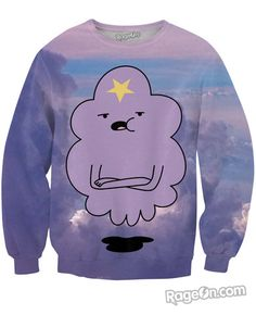 Lumpy Space Princess Sweatshirt - Rage On! - The World's Largest All-Over Print Online Retailer