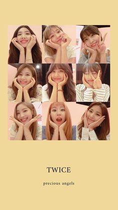 twice // wallpaper Kpop Girl Groups, Korean Girl Groups, Kpop Girls, Twice Dahyun, Tzuyu Twice, K Pop, Aesthetic Header, Signal Twice, Blackpink Twice