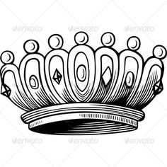 Crown  #GraphicRiver         Crown. The image is a vector illustration and can be used for different compositions. The image is an .eps file and you will need a vector editor to use this file, such as Adobe Illustrator.     Created: 29October13 GraphicsFilesIncluded: VectorEPS Layered: No MinimumAdobeCSVersion: CS Tags: authority #corona #coronation #crown #crowning #earl #glory #golden #illustration #king #kingdom #luxury #nobility #prince #princess #queen #rich #royal #royalty #success…