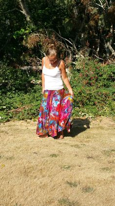 ICe DYEd sKirt TIe dYe MAXI Skirt GyPsy sKirt boho Bohemian twirl skirt for dancing by Etsy at LunabeanShoppe