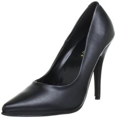 Pleaser SEDUCE-420 Damen Pumps, Schwarz (Blk pu), EU 44 (UK 11) (US 14) - http://on-line-kaufen.de/pleaser/44-eu-pleaser-seduce-420-damen-pumps-10