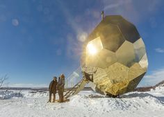 Solar Egg, Kiruna, 2017 - Bigert & Bergström