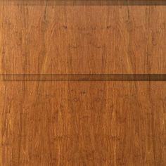 Ladefronten en deuren, massief Bamboe Caramel