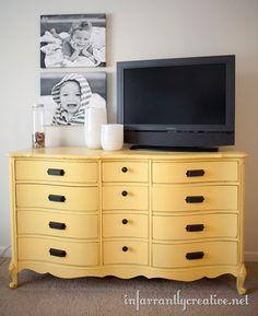 yellow dresser - Dutch Boy Sun Safari (yellow)