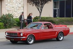 65-66 Mustero, a $6500 conversion by Beverly Hills Company, cost as much as a Shelby Cobra