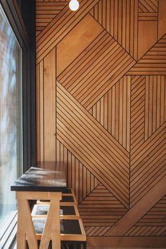 Phenomenal 25 Amazing Wood Wall Covering Ideas For Amazing Home Interior goodsg. Wood Cladding Interior, Interior Walls, Home Interior, Modern Interior, Interior Design, Timber Walls, Timber Panelling, Timber Cladding, Wood Paneling
