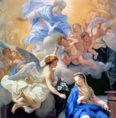 https://flic.kr/p/aGtnKP | Annunciation 32 | The Angel Gabriel's announcement to the young virgin Mary, who accepts the will of God for her life.