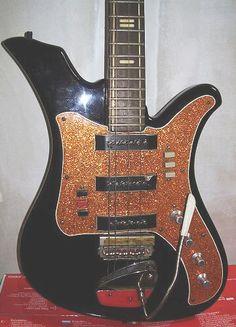 Aelita 1 electric guitar, made in USSR