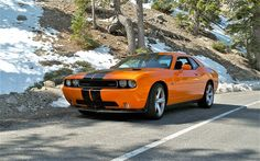 The Challenger SRT8 392 is a big, lovable brute